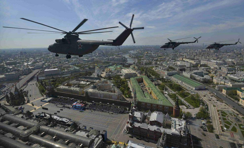 Вертолет-гигант возглавит Парад Победы