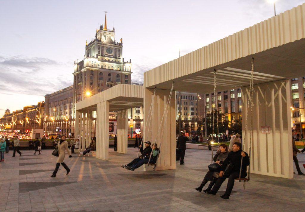 Освещение столицы как один из символов городского комфорта и эстетики