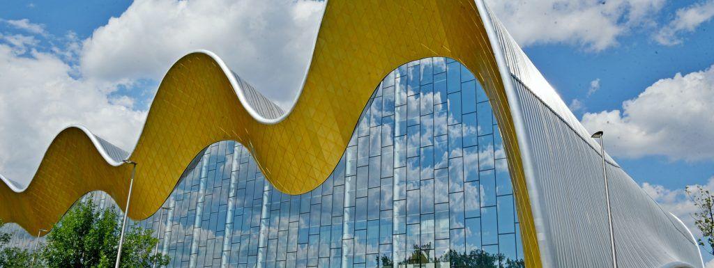 Дворцу художественной гимнастики в Лужниках исполнился год