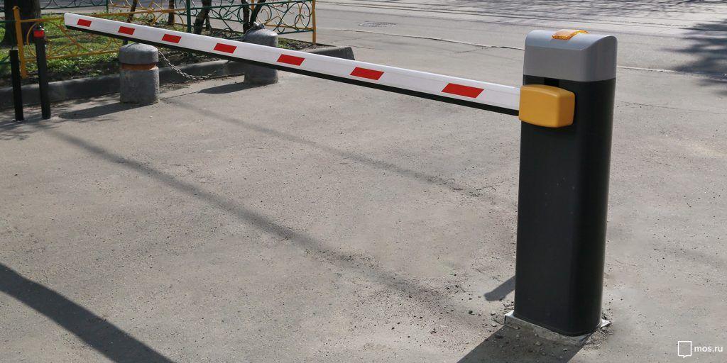 Работа двух парковок со шлагбаумами в районе Арбат временно изменится