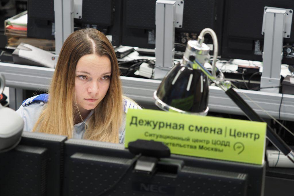 Водителям посоветовали объезжать место массового ДТП в центре Москвы