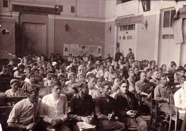 Зрители смогут услышать лекции, прочитанные 85 лет назад. Архивное фото предоставили в пресс-службе библиотеки-читальни имени Пушкина