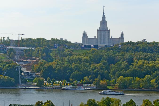 Ясная и теплая погода ожидает москвичей в среду