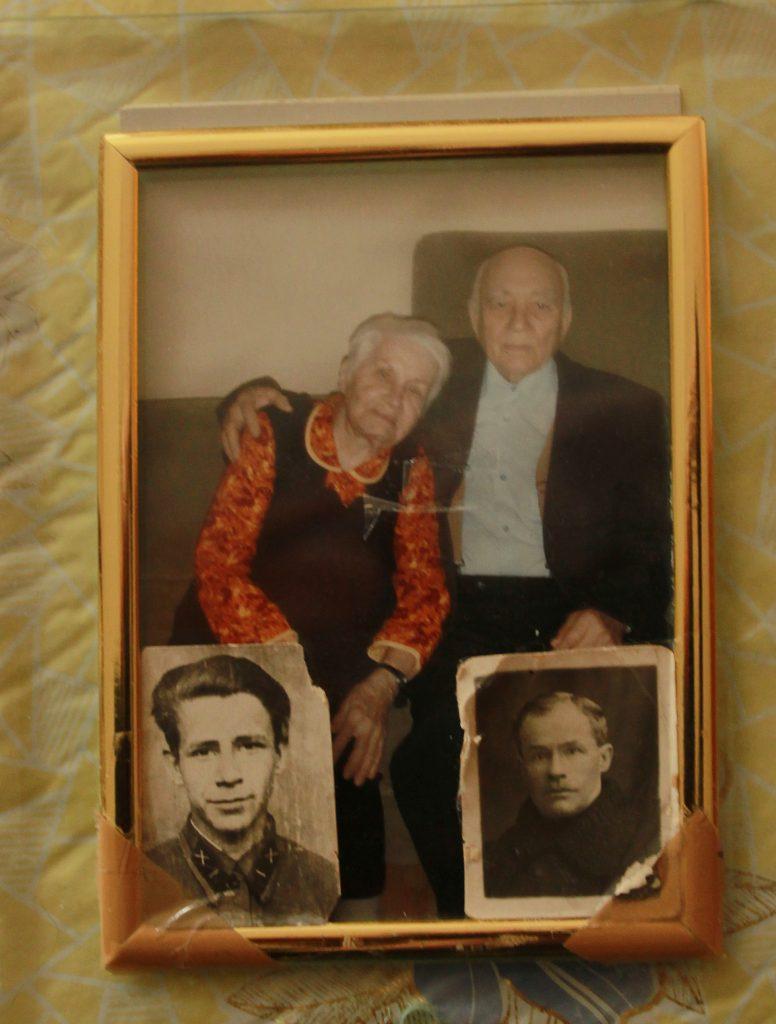 2008 год. Ветеран и сейчас с трепетом вспоминает свою супругу Зинаиду. Фото: из личного архива