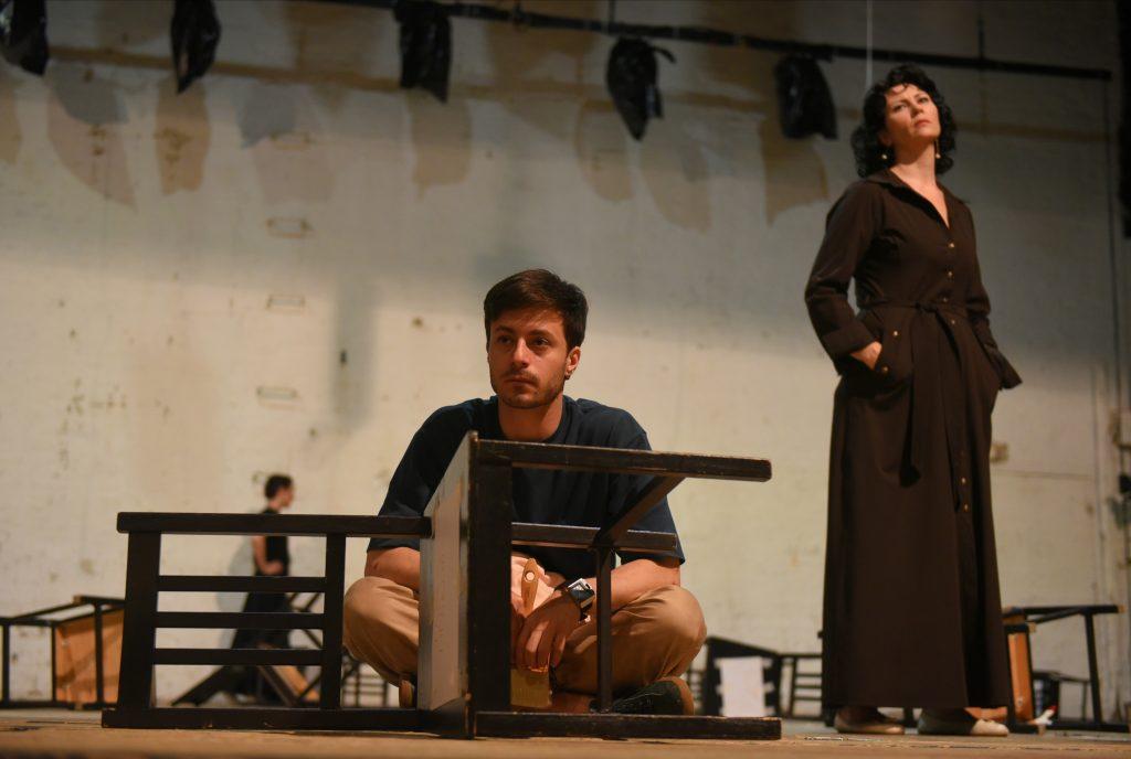 Фотофакт: В Московском театре на Таганке (Таганский район) возобновились репетиции