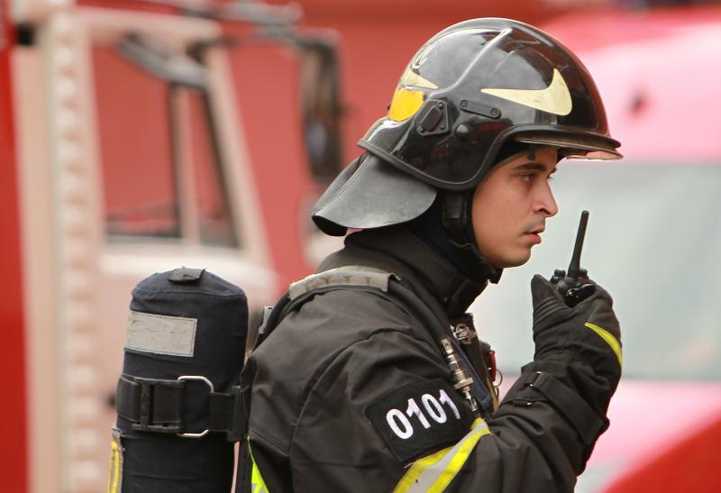 Движение в центре Москвы перекрыли из-за пожара на Тверской