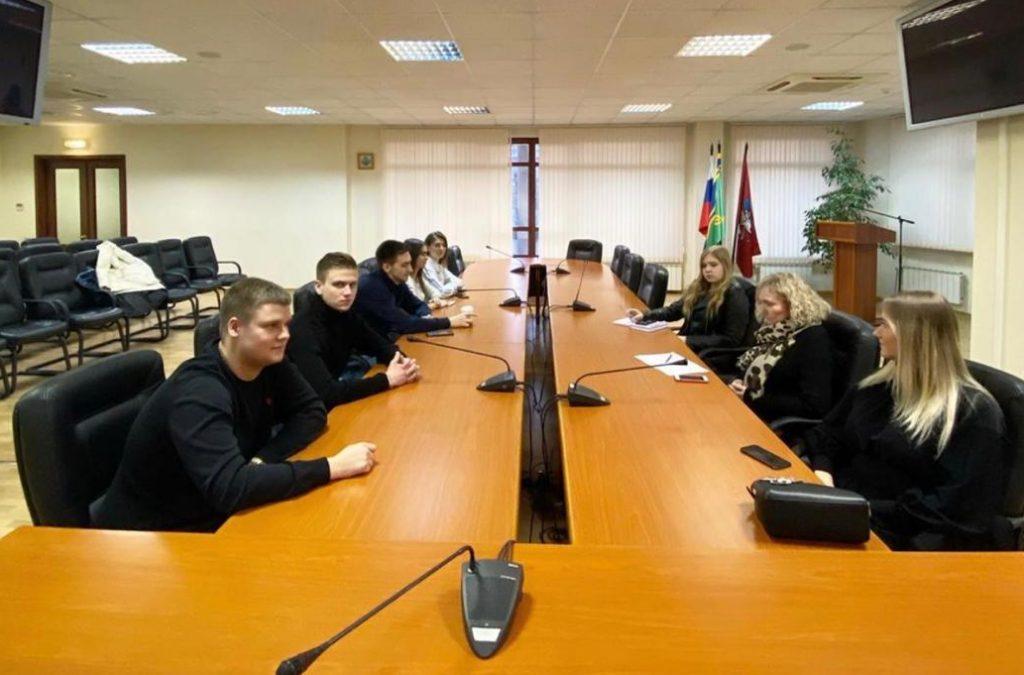Координационное собрание в очном формате проведут представители Молодежной палаты района Замоскворечье
