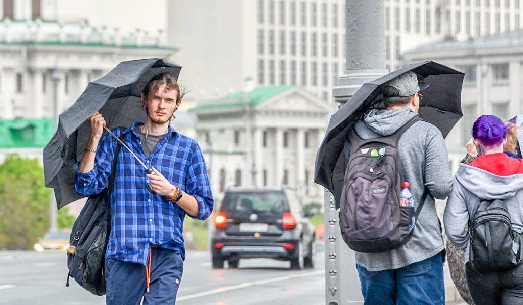 Осадки ожидаются в столице. Фото: сайт мэра Москвы