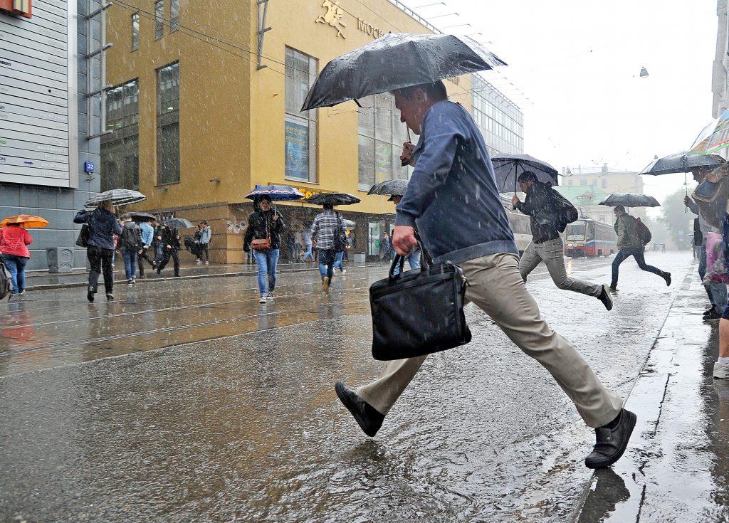 Ночь на 15 июля может побить рекорд дождя в Москве