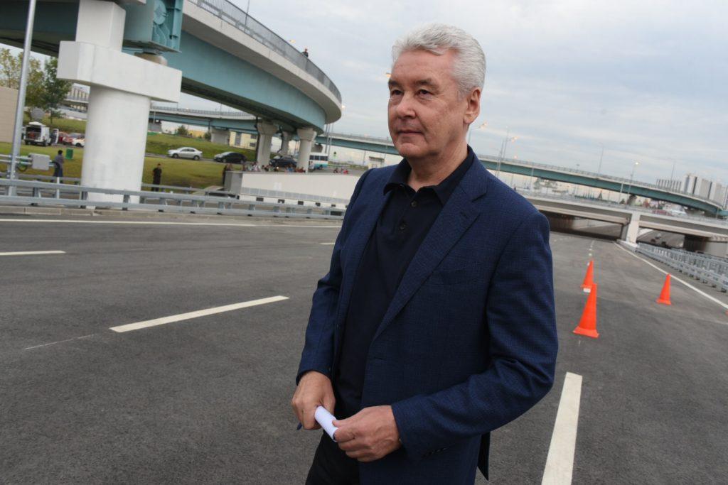Сергей Собянин пообещал достройку проспекта Генерала Дорохова в 2020 году