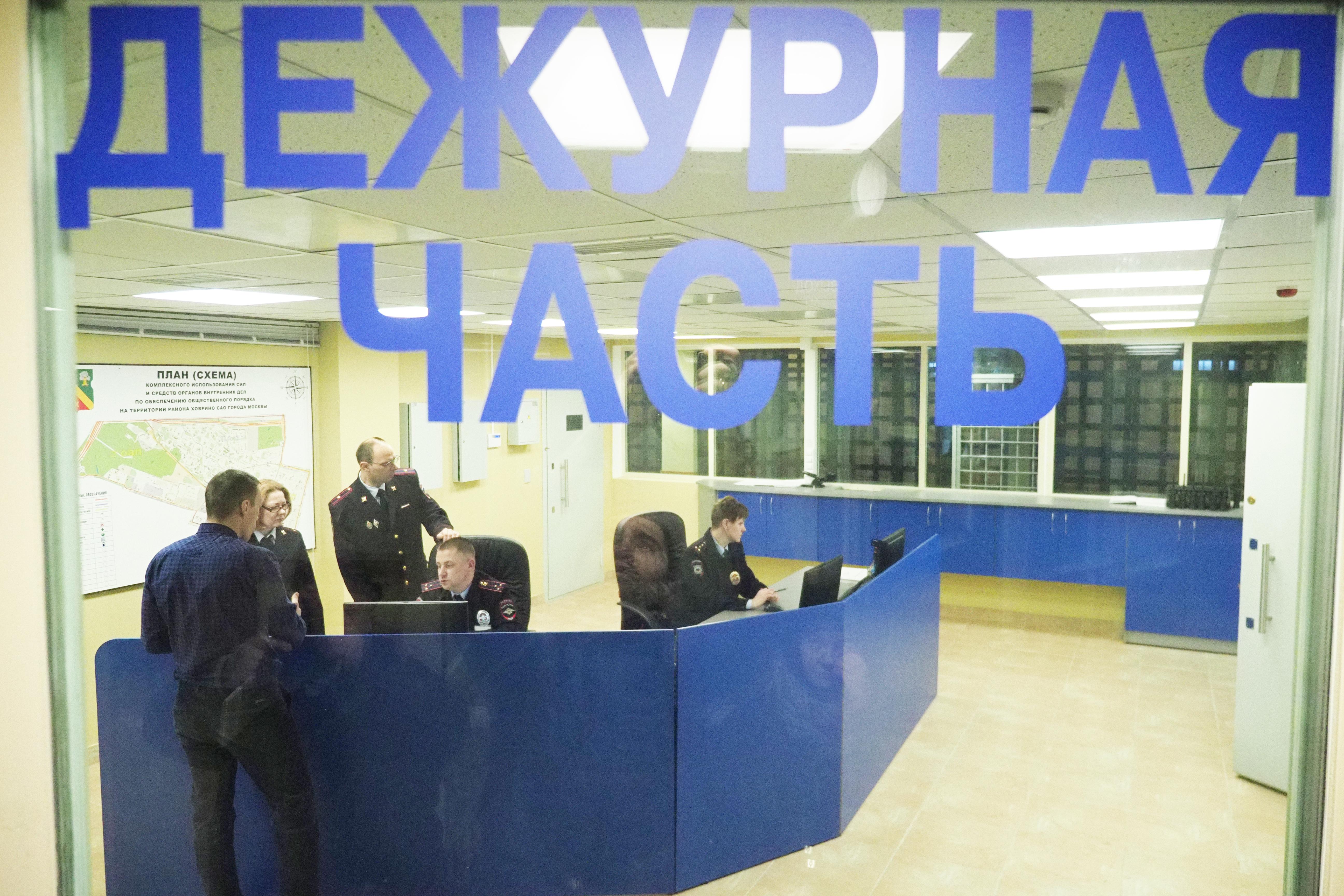 На Таганке оперативники задержали подозреваемого в серии краж. Фото: Антон Гердо, «Вечерняя Москва»