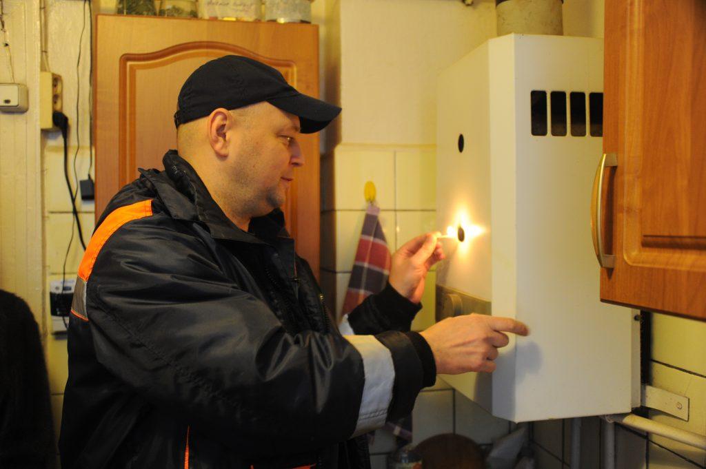 В Москве возобновляют проверки газового оборудования в жилых домах. Фото: Светлана Колоскова, «Вечерняя Москва»