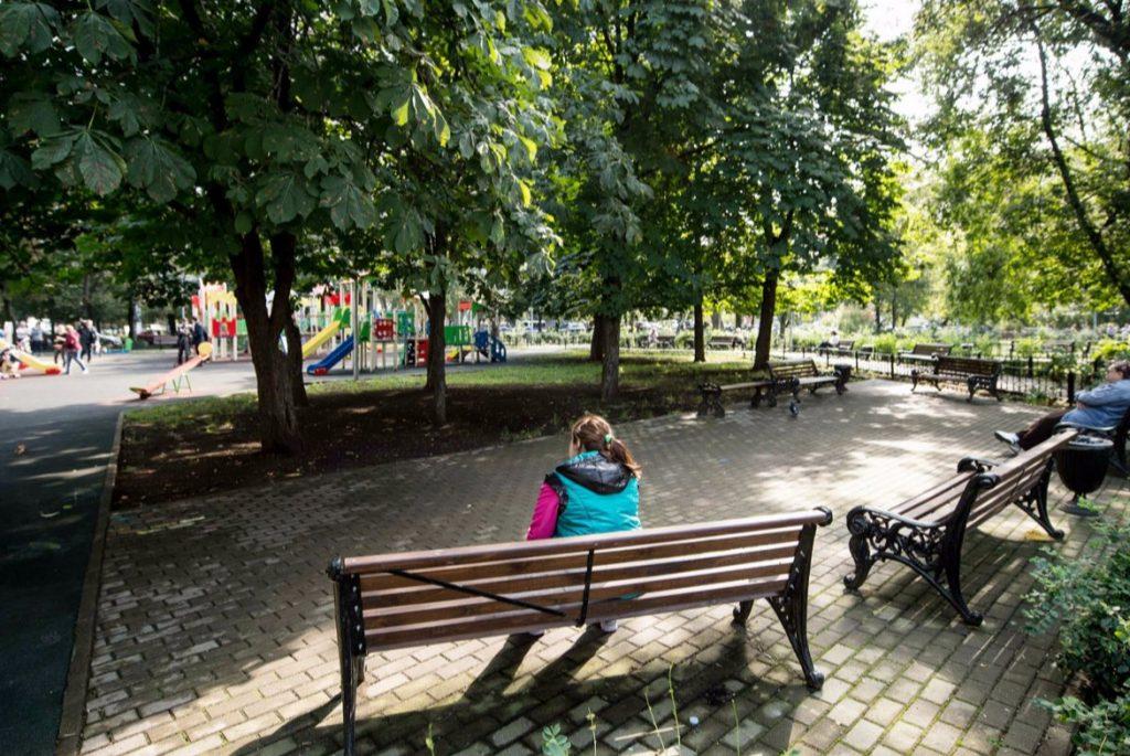 Санитарную обрезку веток деревьев осуществили в Мещанском районе
