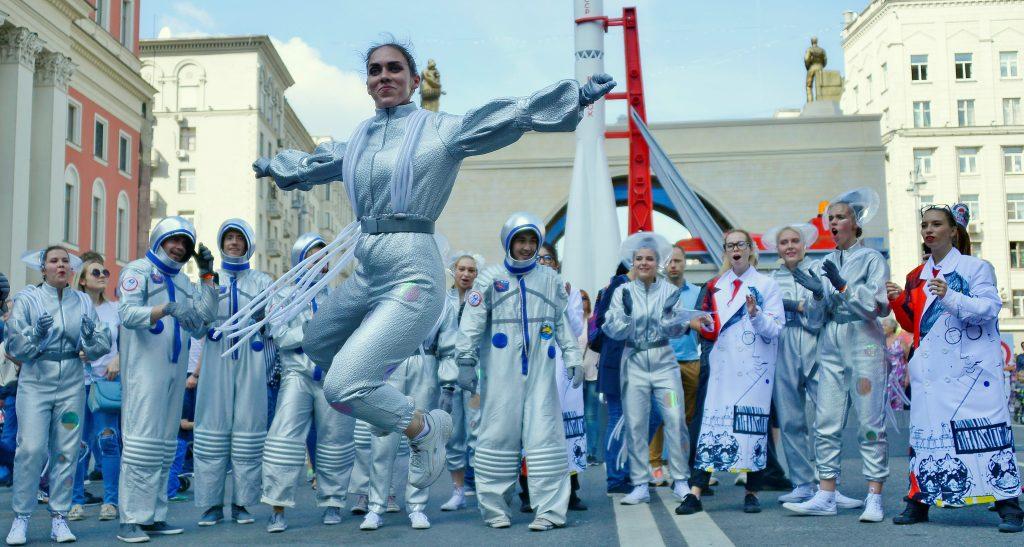 Москва задействует более 40 площадок для празднования Дня города