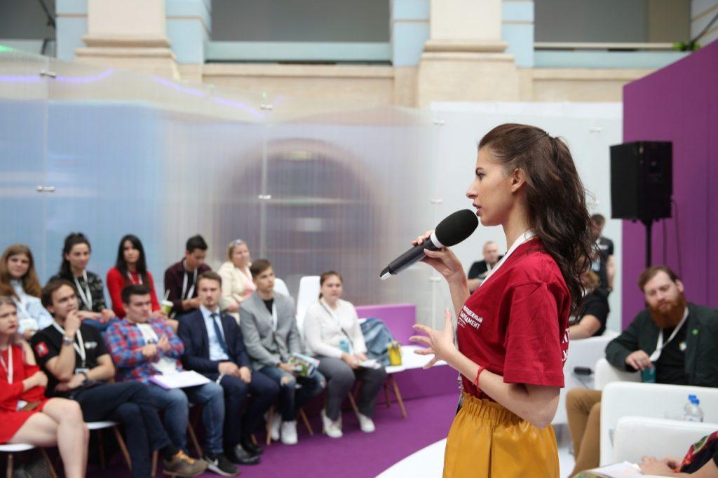 Председатель Молодежной палаты Красносельского района победила в городском конкурсе