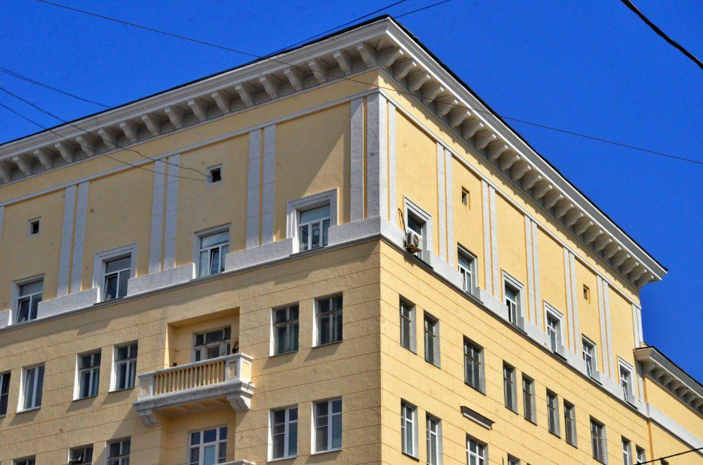 Капитальный ремонт проведут в многоквартирном доме у сада «Эрмитаж»