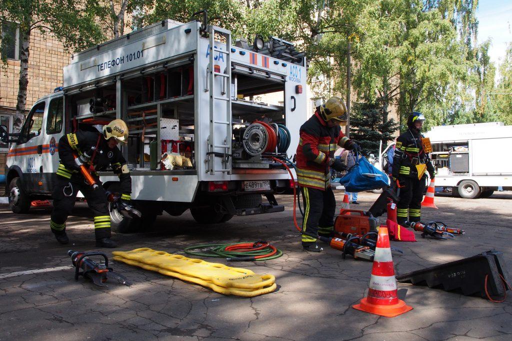 Поздравляем 9 пожарно-спасательную часть Центрального округа с победой