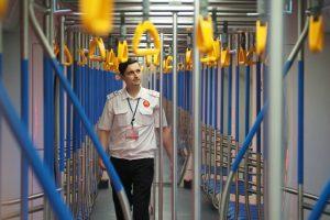 Здесь обслуживают подвижной состав с Некрасовской линии метро. Фото: Антон Гердо