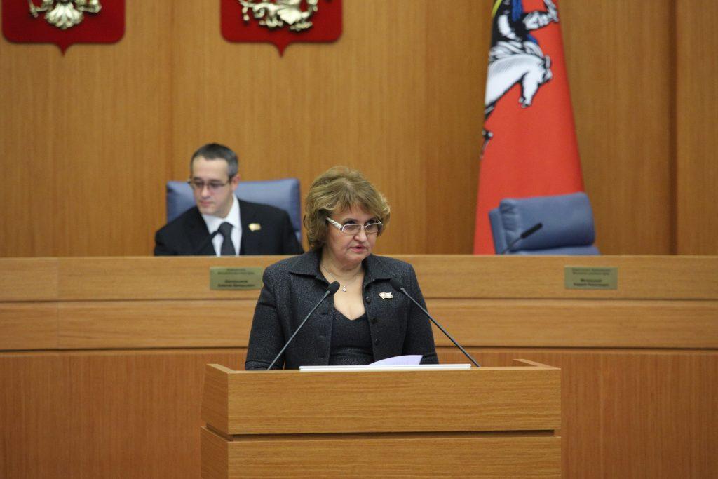 Депутат МГД Людмила Гусева: Москва выполняет все социальные обязательства перед горожанами