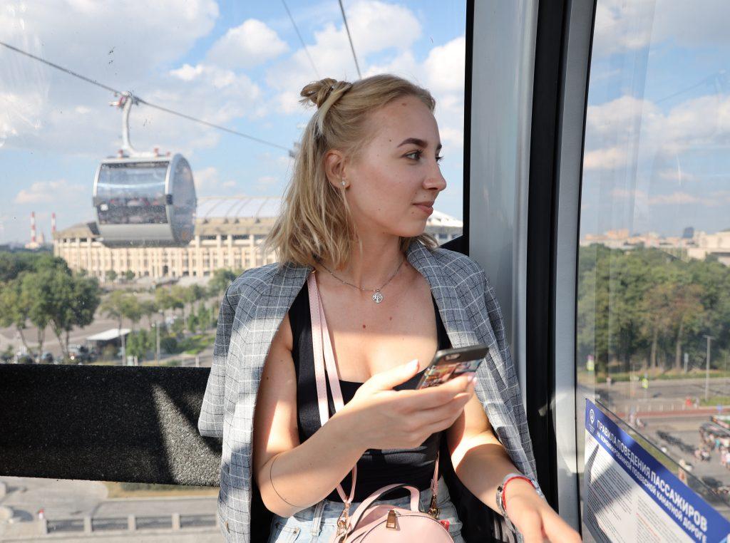 Канатная дорога попала в список самых интересных мест Москвы
