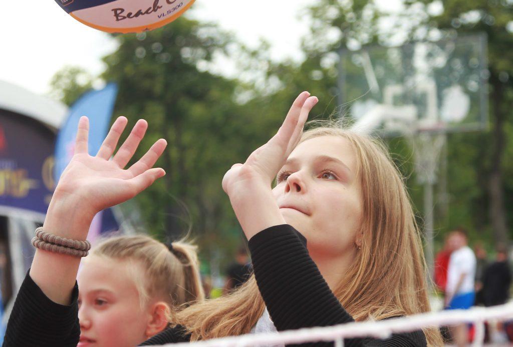 Юные москвичи примут участие в Кубке Центрального округа по волейболу в Таганском районе