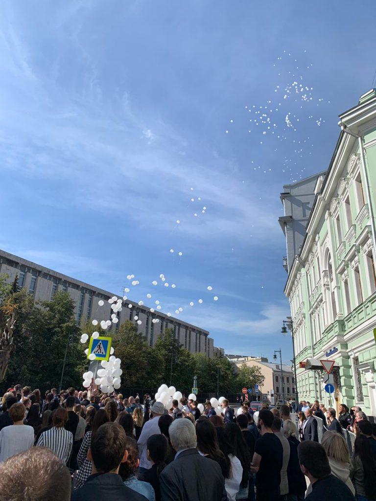 Активисты Молодежной палаты Таганского района приняли участие в памятной акции