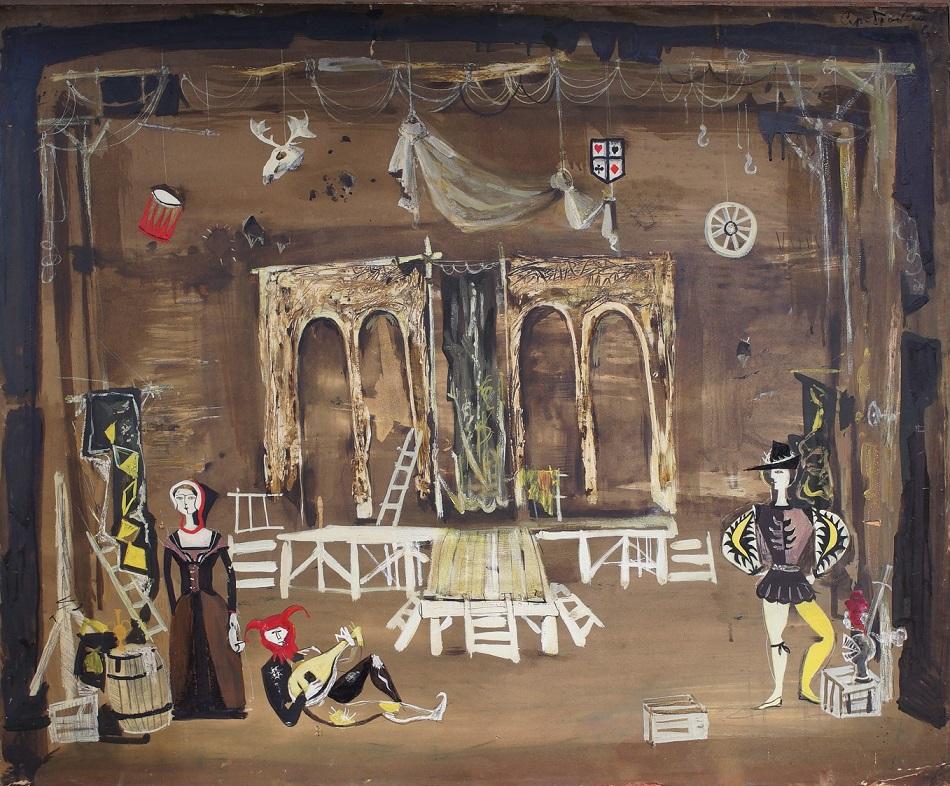 Эскизы декораций и костюмов художника Владимира Серебровского покажут в Доме-музее Островского