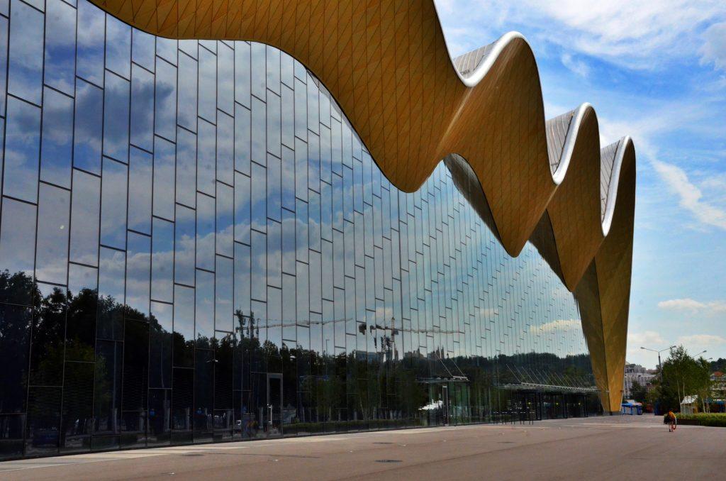 Дворец гимнастики в Лужниках выиграл престижную архитектурную премию MIPIMAwards