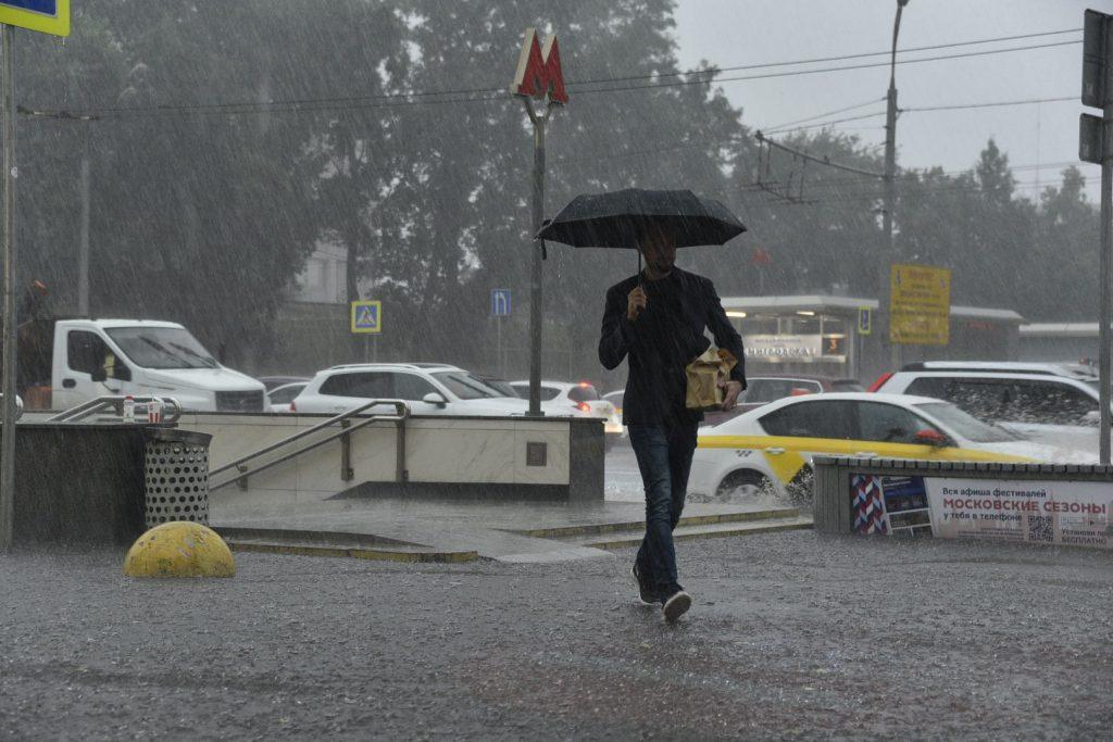 Кратковременные дожди пройдут в субботу в столице