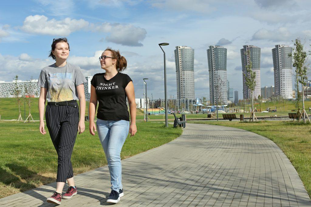 Жители Москвы выбрали парк для нового дизайна «Тройки»