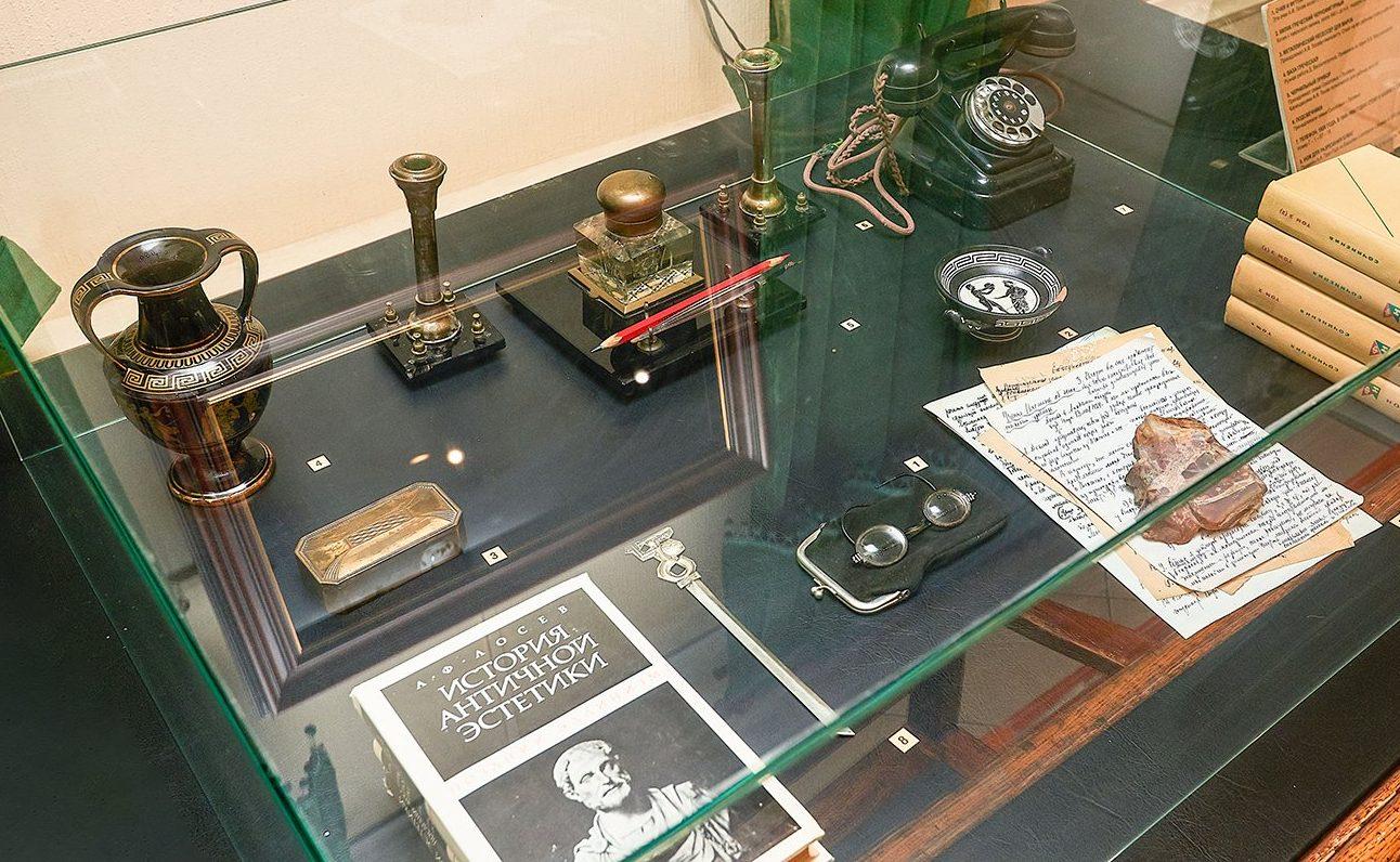 Лосев и театр: в Доме Лосева представят экспозицию о жизни философа. Фото: сайт мэра Москвы