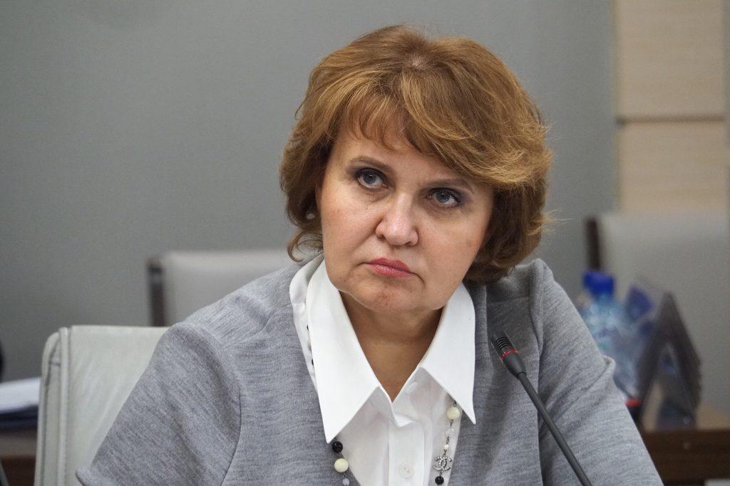 Председатель комиссии Мосгордумы по экономической и социальной политике Людмила Гусева