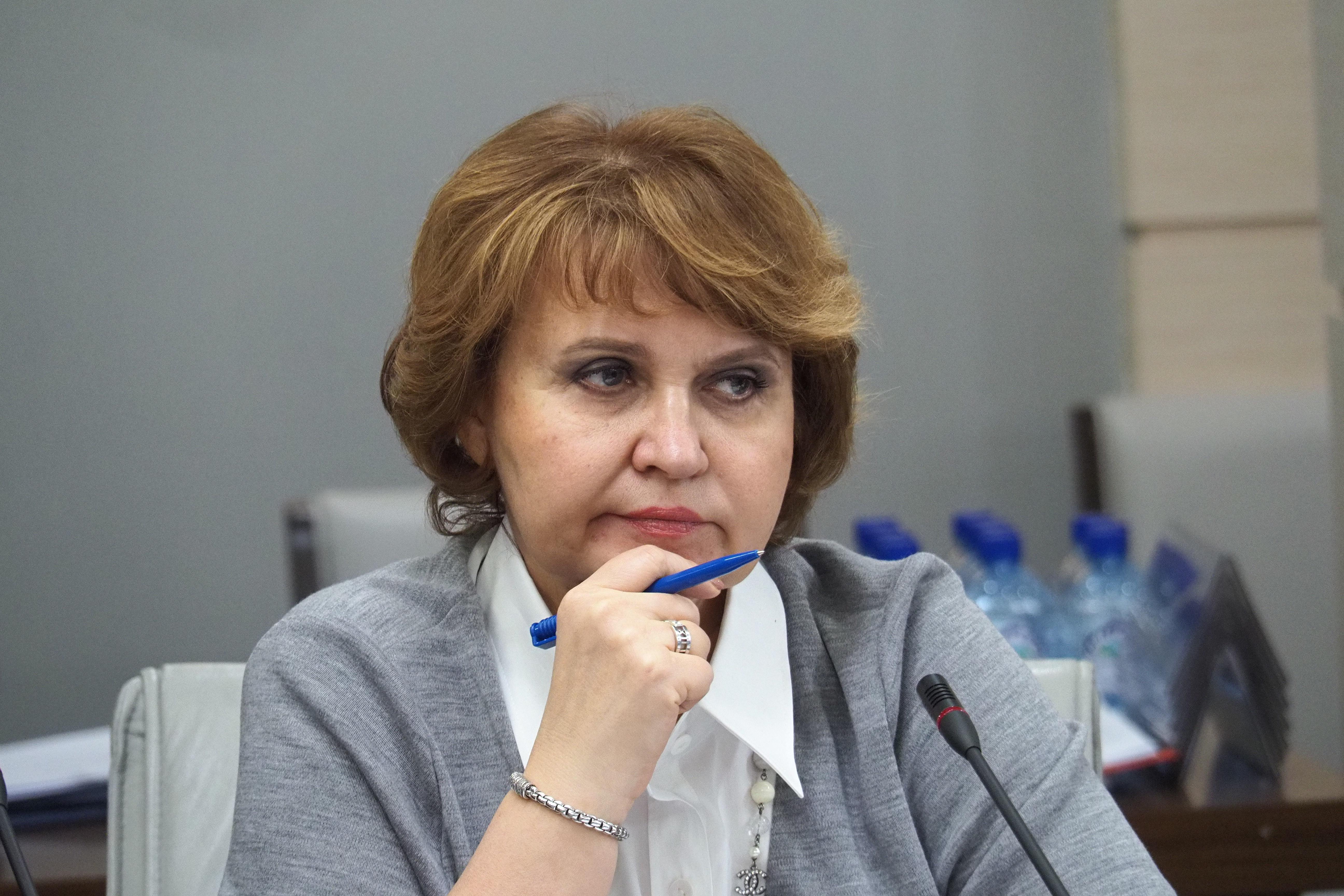 Председатель комиссии Московской городской Думы по экономической и социальной политике Людмила Гусева