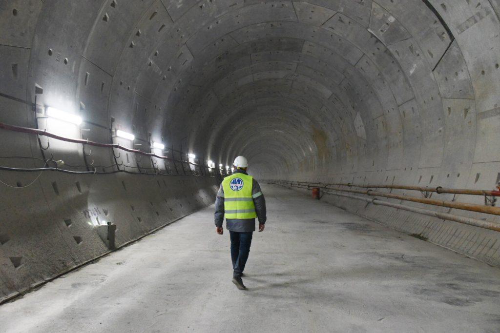 Москва построила почти две трети Большого кольца метро