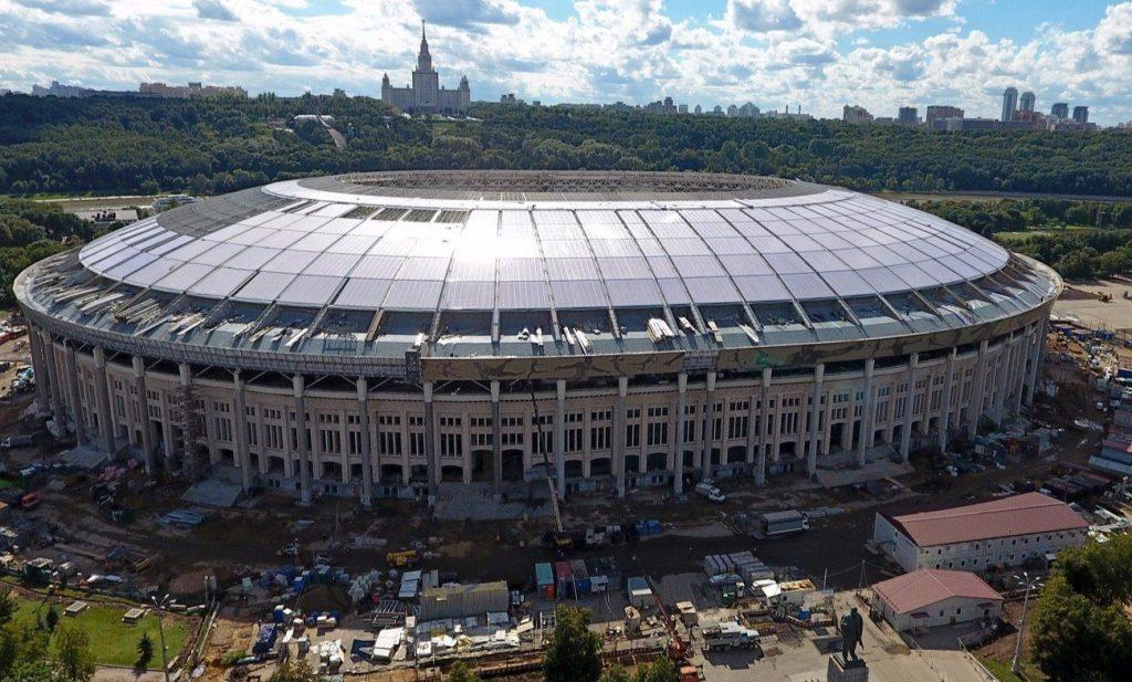 Спортивный зал «Дружба» в «Лужниках» обеспечат электричеством в 2021 году
