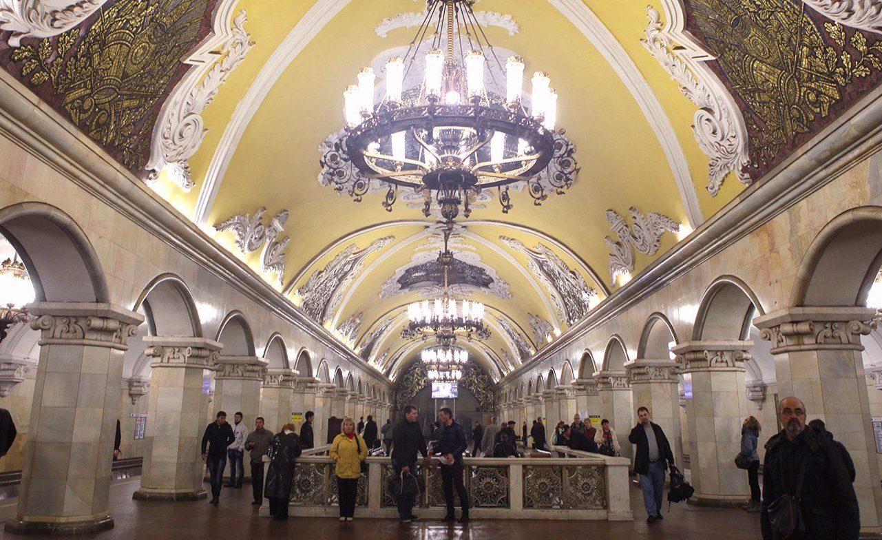 Синий платочек Победы: в метро проведут акцию в честь Победы в Великой Отечественной войне. Фото: сайт мэра Москвы
