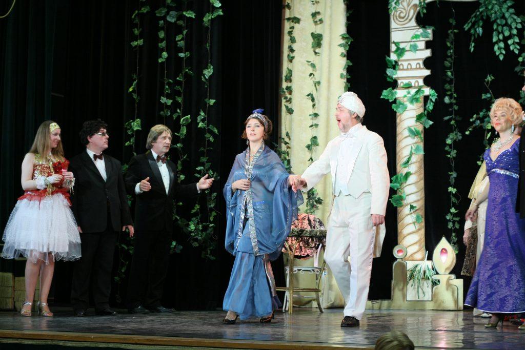 Восточный принц и примадонна из Парижа: трансляцию спектакля проведут на сайте Дома культуры «Стимул»
