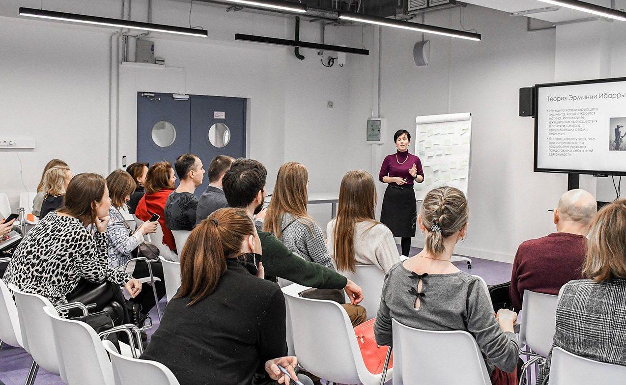 Активисты Молодежной палаты района Замоскворечье приняли участие в образовательном интенсиве. Фото: сайт мэра Москвы