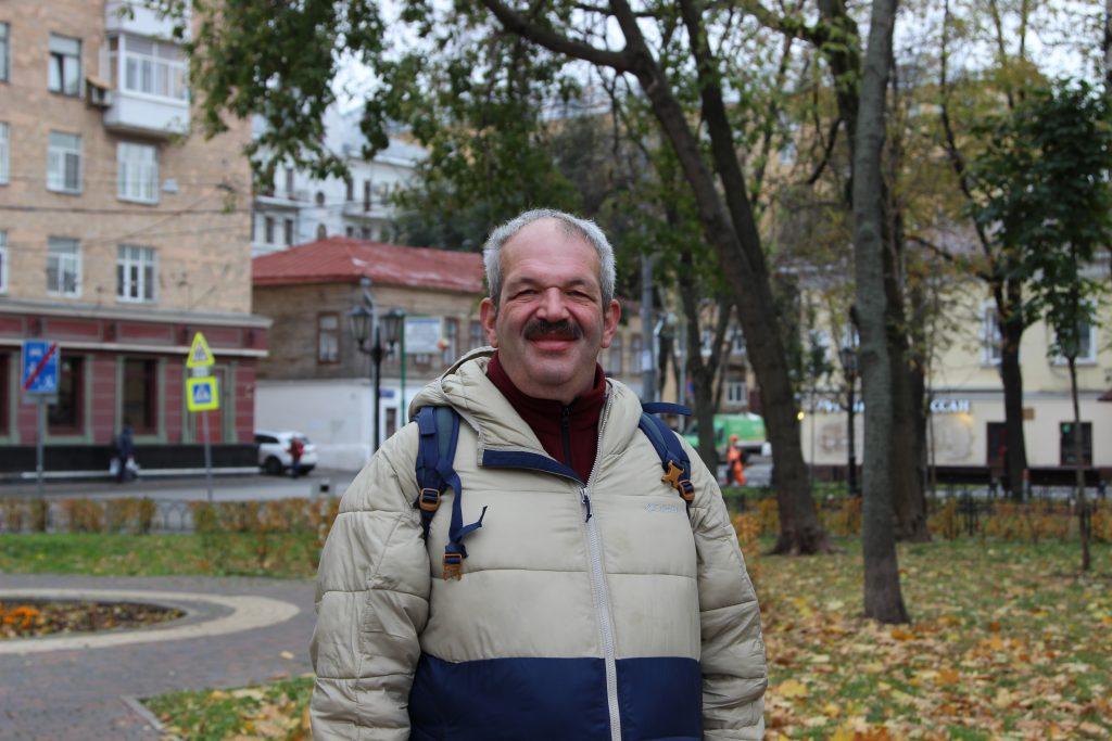 Социальный помощник Басманного района