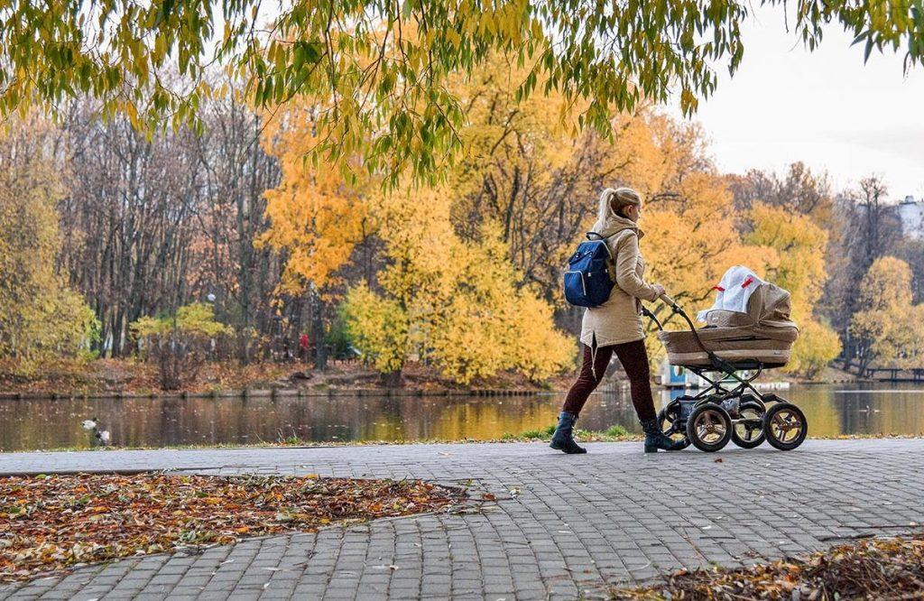 Въезд для детских колясок появился во дворе Мещанского района для удобства жильцов