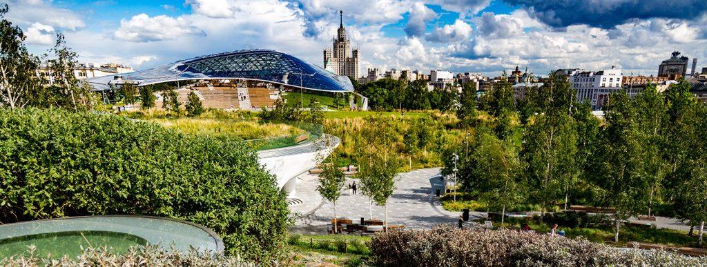 Онлайн-экскурсию по концертному залу «Зарядье» проведут на портале mos.ru
