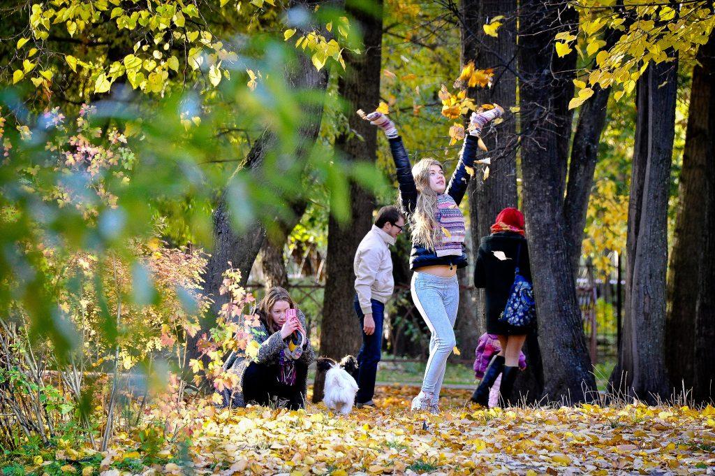 Вторые выходные октября порадуют москвичей теплом