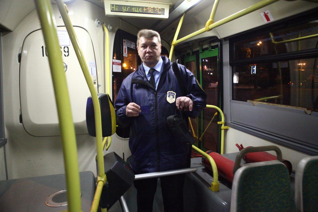 Два новых ночных автобуса запустят в центре Москвы