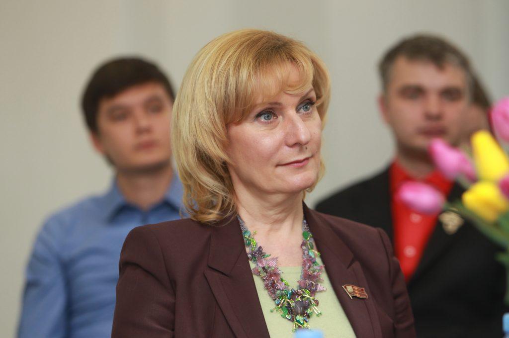 Председатель комитета верхней палаты парламента по социальной политике Инна Святенко