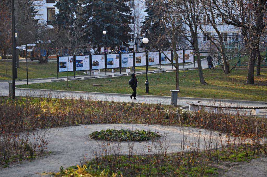 Портреты доноров представили на фотовыставке в саду имени Николая Баумана