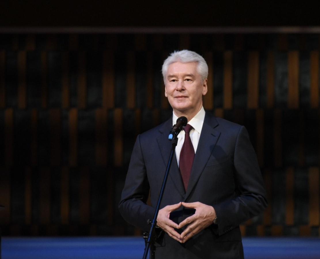 Мэр Москвы Сергей Собинин