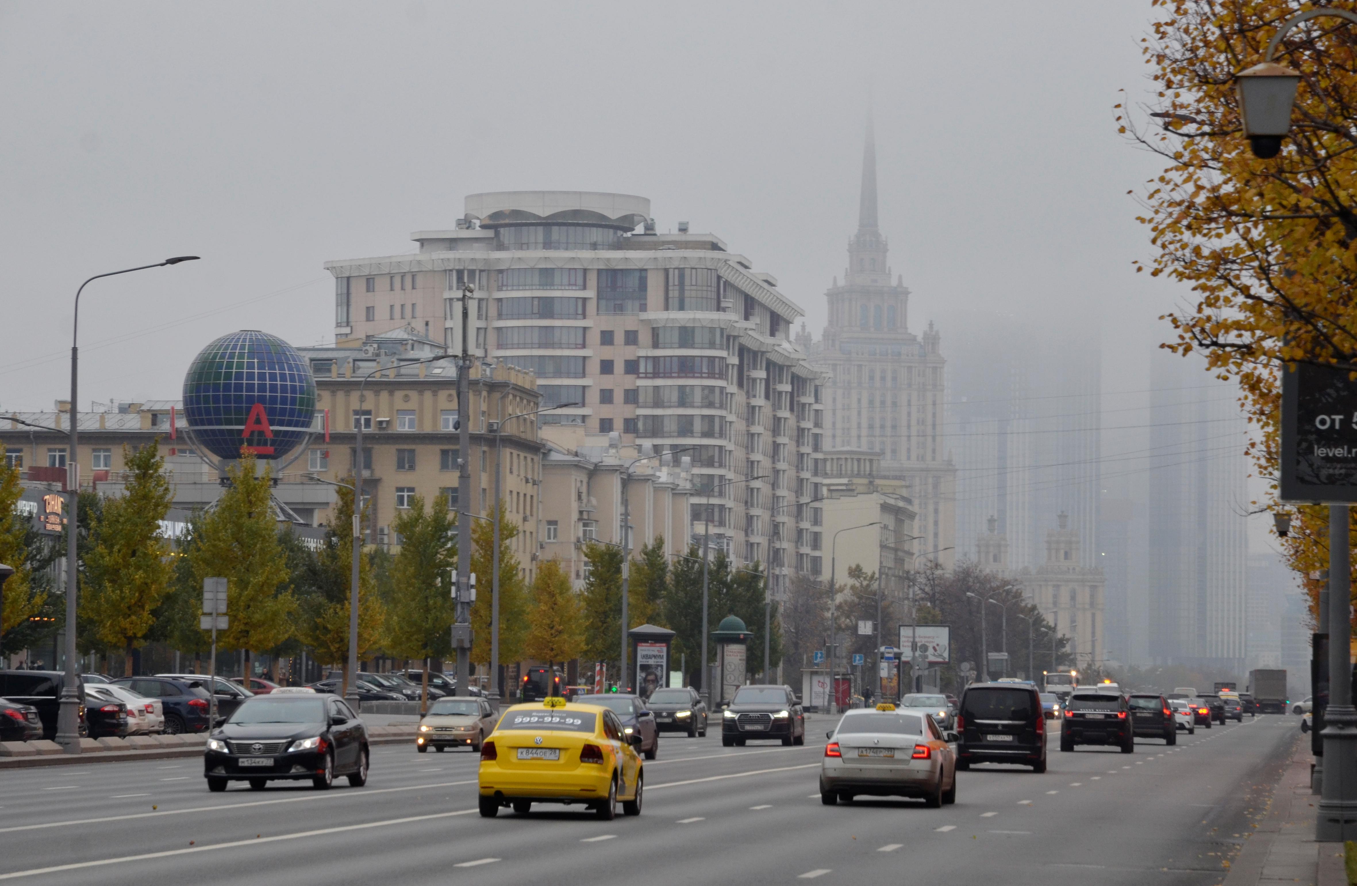 Продолжается активное развитие транспортного каркаса Москвы. Фото: Анна Быкова