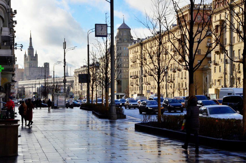 Московская температура снизится до нуля в среду