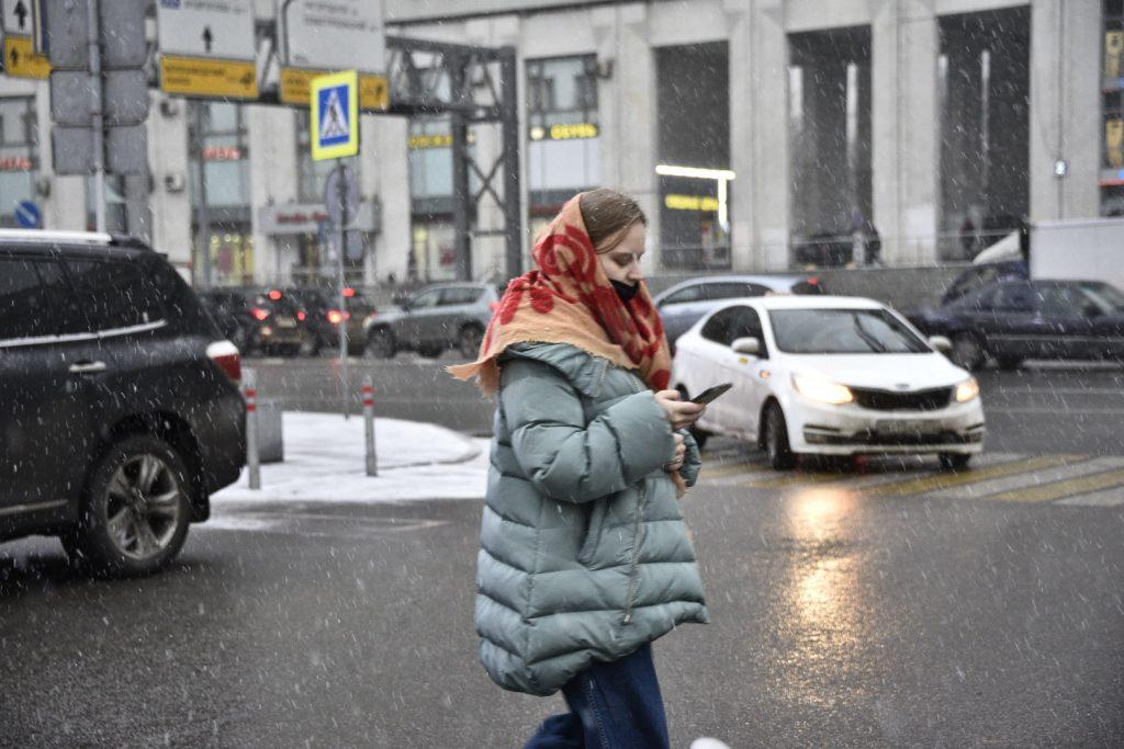 Небольшой снег сохранится в Москве