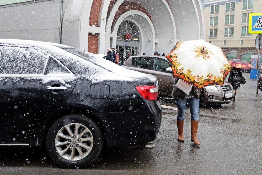 Циклон «Таня» принесет тепло и мокрый снег в Москву